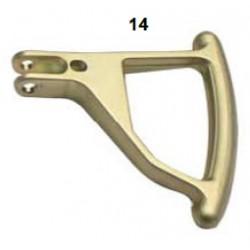 Palanca aluminio oro