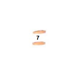 Arandela cobre 10,5-14x2