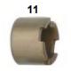 Piston pinza freno V05/V08