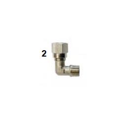 Conector L pinza freno