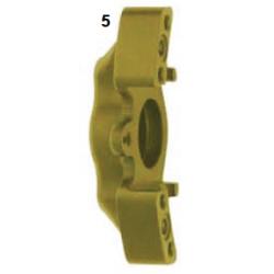 Mitad pinza de freno delantera UP/V05 derecha oro