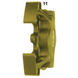 Mitad pinza de freno delantera UP/V05 izquierda oro