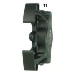 Mitad pinza de freno delantera UP/V05 izquierda negra