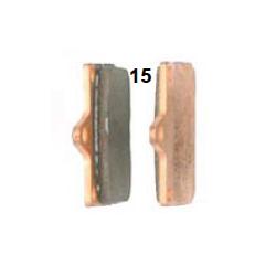 Pastilla freno delantera V04/V06 sinterizada
