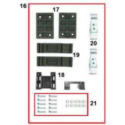 Kit conexion completo ponton delantero NA Mini