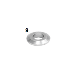 Espaciador mangueta 8,5-18x4