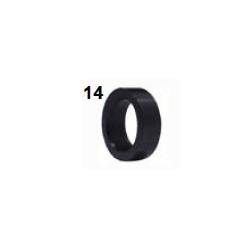 Separador 8mm negro