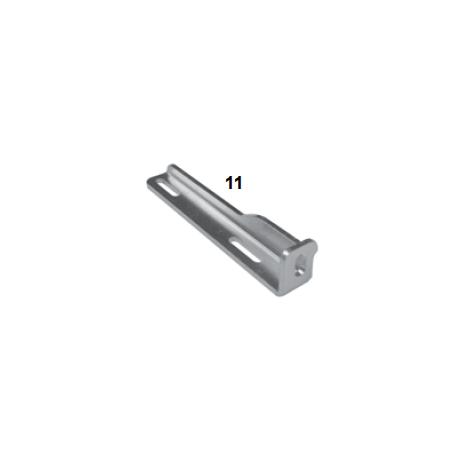 Soporte inferior radiador DD2