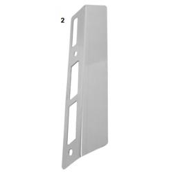 Placa protectora radiador