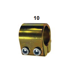 Banda estabilizadora dorada completa
