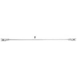 Varilla de freno completa 42cm KF hibrido
