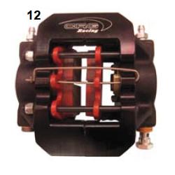 Pinza freno V09/V10 completa