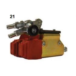 Bomba de freno oro doble V04 con repartidor