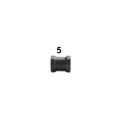 Espaciador pinza 8,5x18x21 hibrido negro