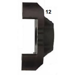Mitad pinza freno trasera V08 sin oreja