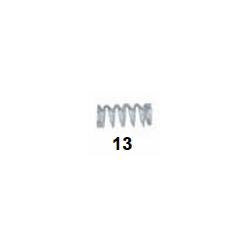 Muella pastilla freno trasera V08