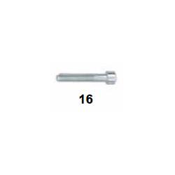 Tornillo cabeza hueca M6x35
