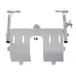 Pedalier mini XS con soporte de pies