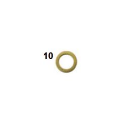 Arandela laton 6,5-10x1