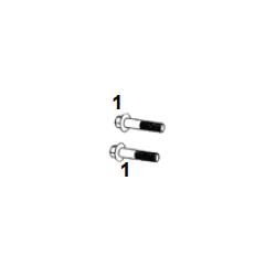 Tornillo cabeza M8x38