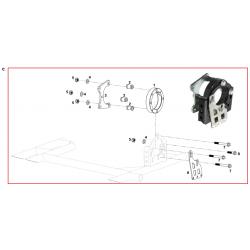 Brida eje hibrida / Portarodamientos