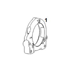 Brida ajuste eje 50 sistema 8 / Portarodamientos