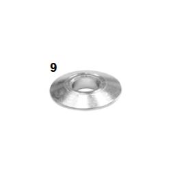 Espaciador caster conico 10-28x6