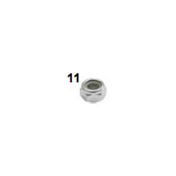 Tuerca M10 con freno