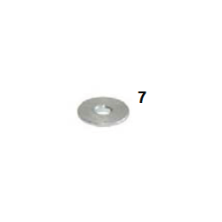Espaciador caster plano 8-28x4
