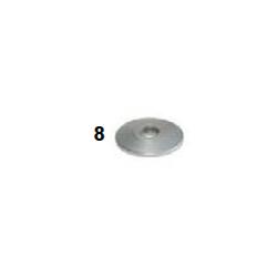 Espaciador caster conico 8-28x4