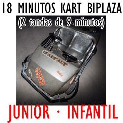 Bono Tarjeta Regalo 18 minutos KART JUNIOR · INFANTIL