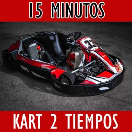 Bono Regalo 15 minutos SODIKART RT8 de 4 tiempos